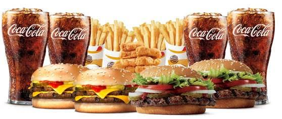 Coca-Cola + Burger King Team with Homegating Bundle Meal Offers